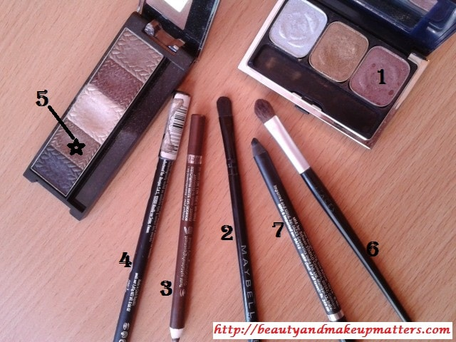 Products-Used-Eye-Makeup-Look-withCopper-Brown-Eyes