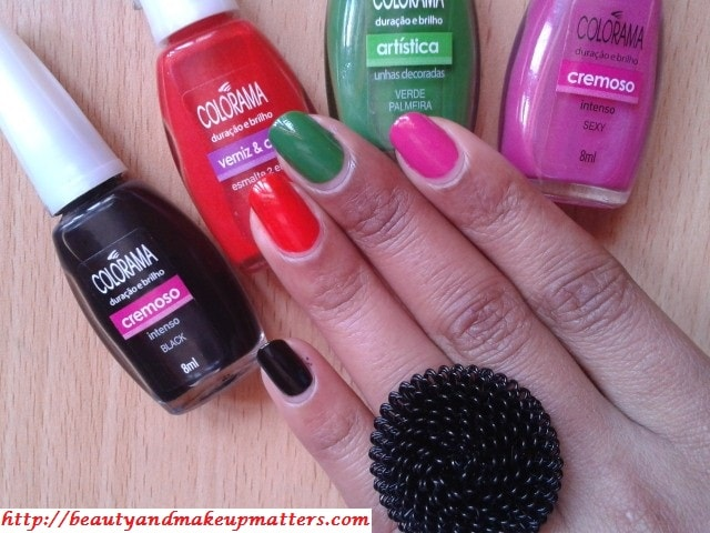 SwatchFest-Maybelline-Coloroma-Nail-Paints-NOTD1