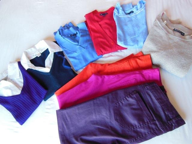 Adding Colors to my Wardrobe
