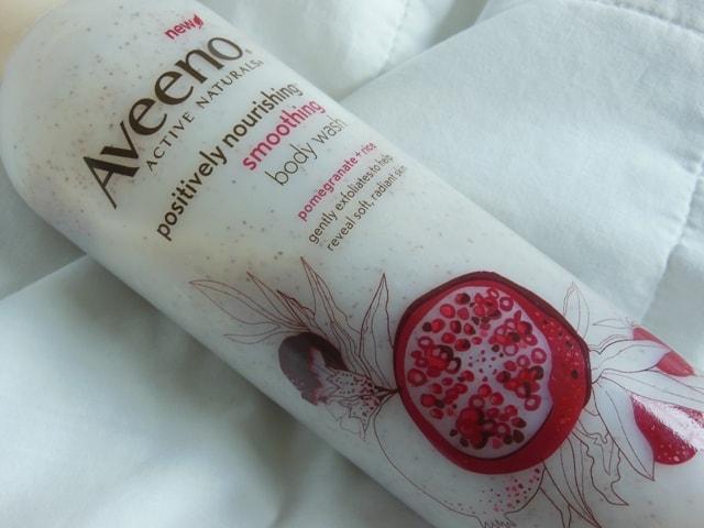 Aveeno Positively Nourishing Smoothing Body Wash Review