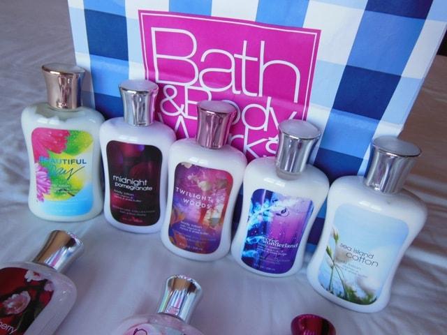 Bath & Body Works Body Lotions haul1