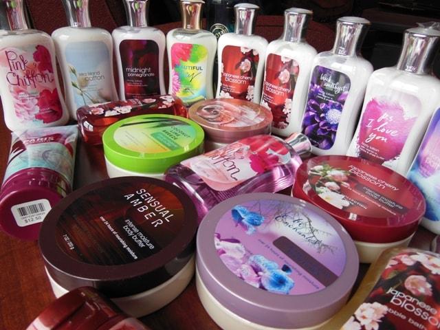 Bath & Body Works Shopping Haul