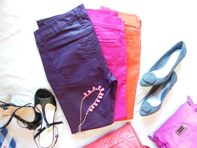 Colored Jeans @AlbertVille Shopping Haul