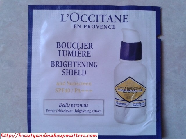 L'Occitane-Immortelle-Brightening-Shield-Sunscreen-SPF40-Review