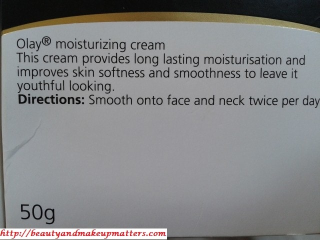 OLAY-Moisturizing-Cream-Claims