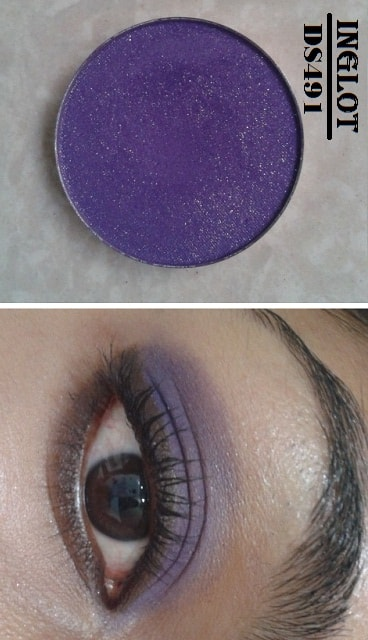 Inglot-Freedom-System-DS491-Eye-Shadow-Look