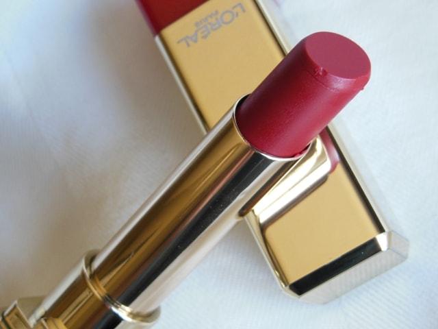 L'Oreal Color Riche Caresse Lipstick Cherry Tulle 179 Review