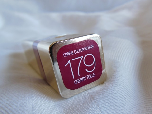 L'Oreal Color Riche Caresse Lipstick Cherry Tulle 179
