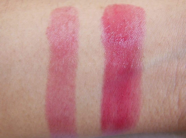 L'Oreal Color Riche Caresse Lipstick Cherry Tulle Swatch2