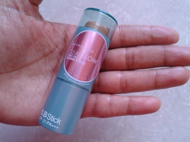 Maybelline ClearGlow Shine-free Clear Stick Fawn Review