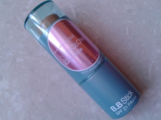 Maybelline ClearGlow Shine-free Clear Stick Review