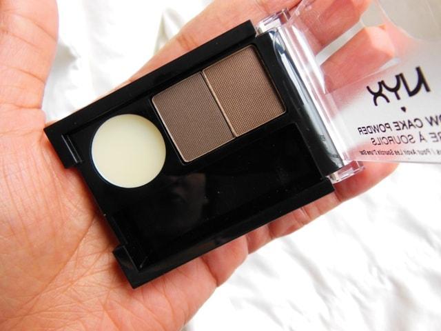 NYX Cosmetics Eyebrow Cake Powder Brown