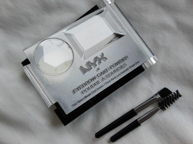 NYX Cosmetcis Eyebrow Cake Powder-Dark Brown Brown Review
