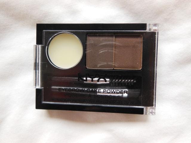 NYX Eyebrow Cake Powder- Dark Brown Brown