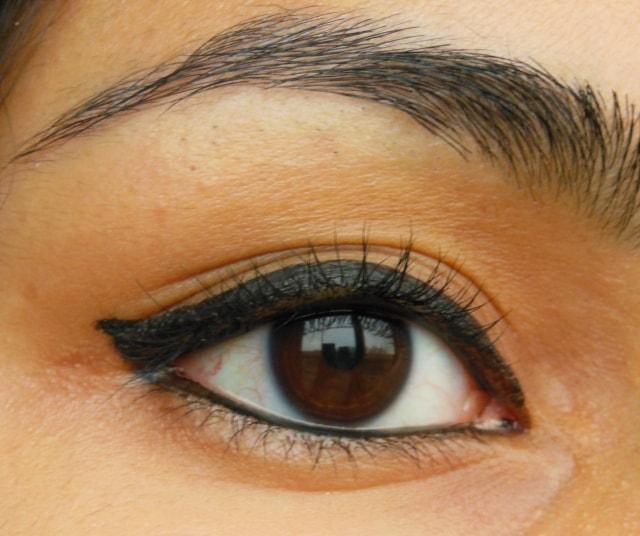 Revlon Colorstay Liquid Eye Liner-Blackest Black EOTD