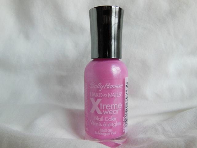 Sally Hansen Hard As Nails Xtreme Wear Nail Color Bubblegum Pink