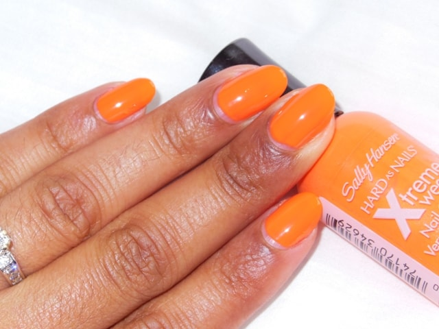 Sally Hansen Hard As Nails Xtreme Wear Nail Color Sunkissed NOTD