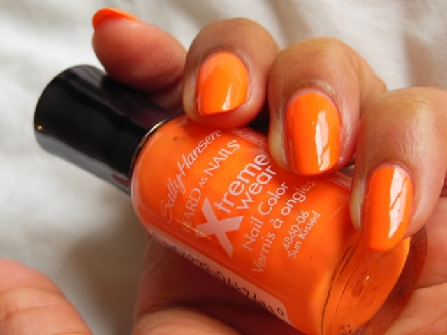 Sally Hansen Hard As Nails Xtreme Wear Nail Color Sunkissed Nails