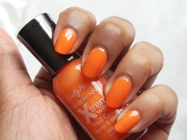 Sally Hansen Hard As Nails Xtreme Wear Nail Paint Sunkissed NOTD