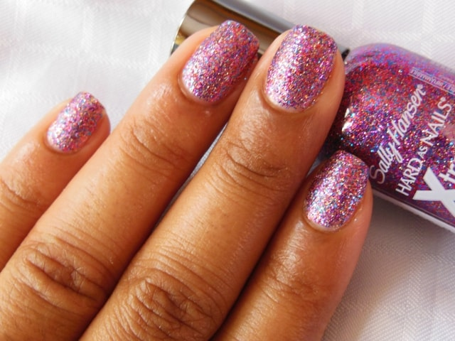 Sally Hansen Hard As Nails Xtreme Wear Nail Polish-Rockstar Pink Swatch