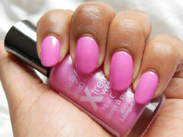 Sally Hansen Xtreme Wear Nail Color Bubblegum Pink