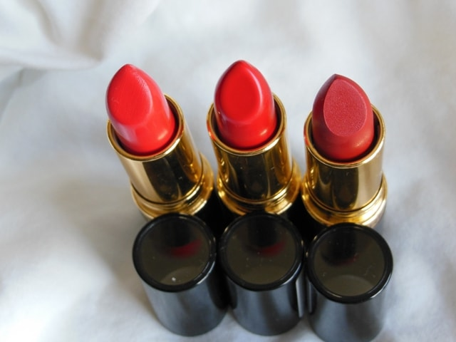 Swatch Fest - Revlon Super Lustrous Red Lipsticks