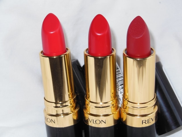 Swatch Fest-Revlon Superlustrous Red Lipstick