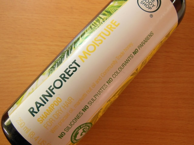 The Body Shop RainForest Moisture Shampoo Finished
