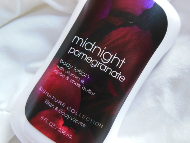 Bath and Body Works Body Lotion Midnight Pomegranate