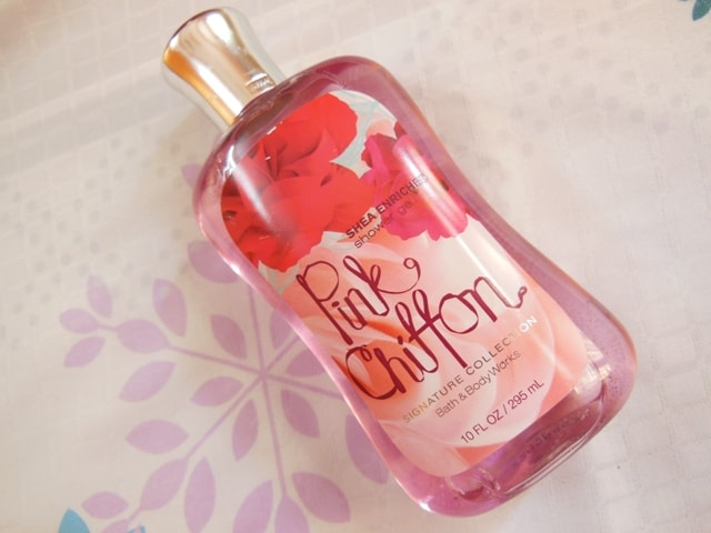 Bath and Body Works Pink Chiffon Shower Gel Review