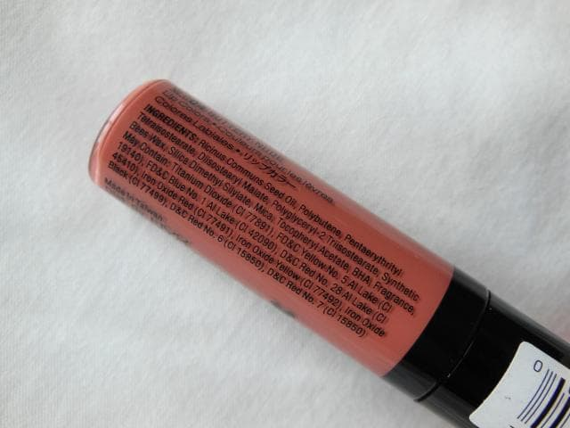 NYX Xtreme Lip Cream  Buttery Nude Ingredients