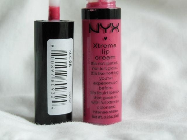 NYX Xtreme Lip Cream Pinky Nude