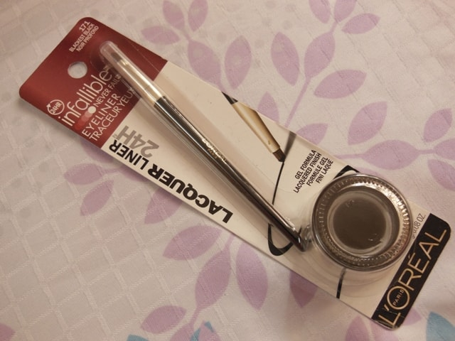 Suprise Makeup-L'Oreal Infallible Gel liner-Black