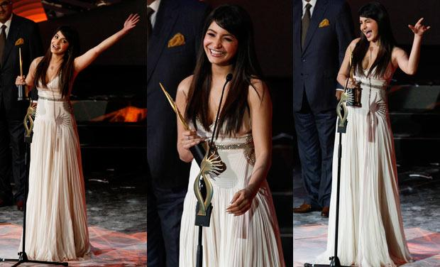 Anushka Sharma @ IIFA Awards 2013