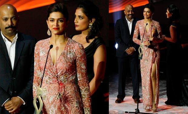 Deepika Padukone @ IIFA Awards 2013