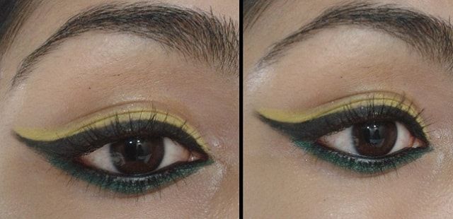 Dual Colored Eye Liner Style