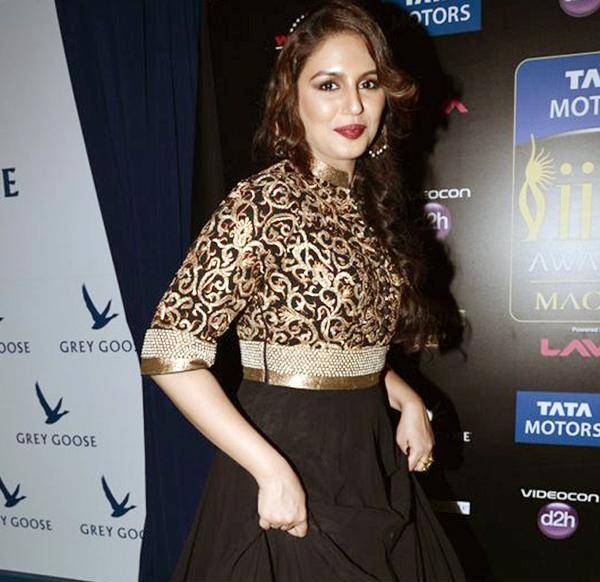 Huma Qureshi@ IIFA Awards 2013