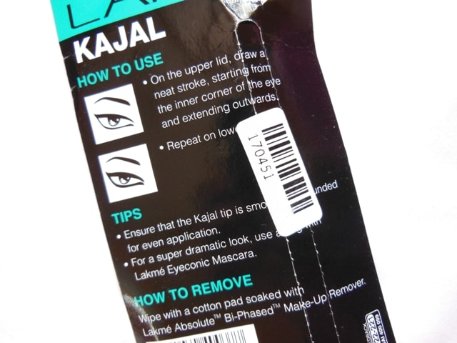 Lakme Eyeconic Kajal Tips