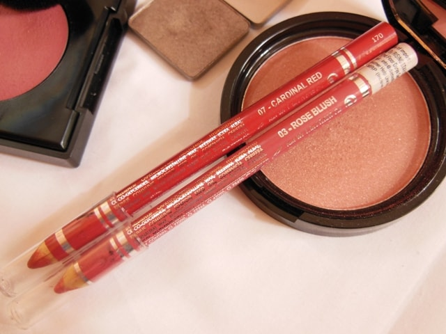 Makeup Favorites This Month @ July 2013 - Diana Of London Lip Pencils