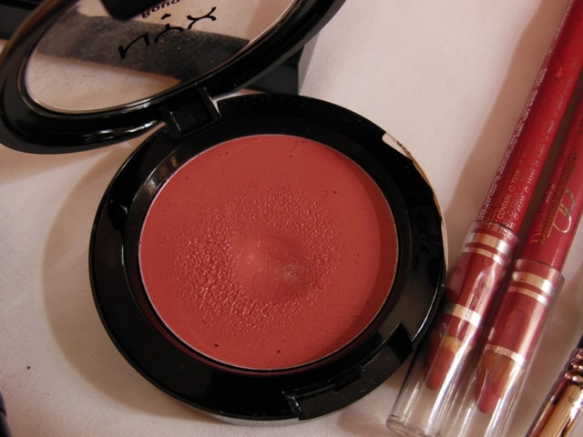 Makeup Favorites This Month @ July 2013 - NYX Cream Blush Glow