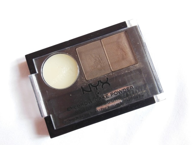 Monthly Makeup Favorite- NYX Eye brow cake Powder - Brown