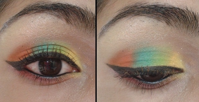 Sunrise In Eyes Eye Makeup