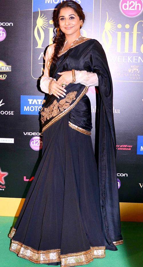 Vidya Balan @ IIFA Awards 2013 in Anand kabra Creation