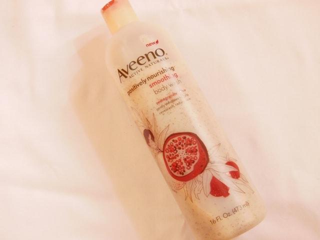 Bath & Body Favorites @ July 2013-Aveeno Positively Nourishing Body Wash