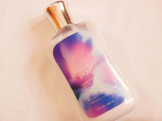 Bath & Body Favorites @ July 2013-BBW Body Lotion Moonlight Path