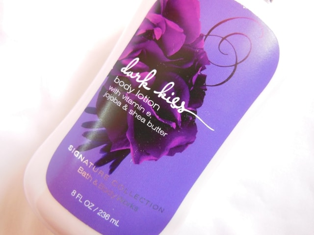 Bath & Body Works Dark Kiss Body Lotion