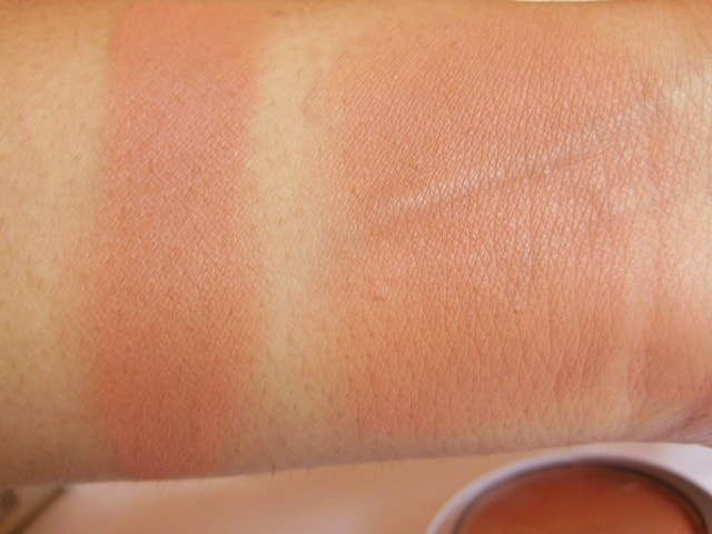 Colorbar Just Earth Powder Blush Swatch