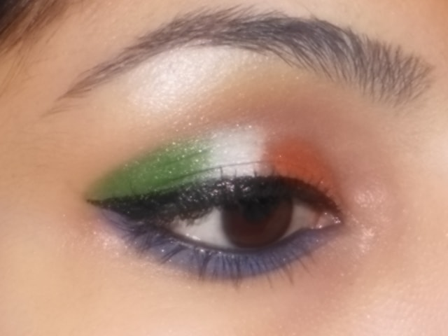 IndependenceDay Inspired 2013 Eye Makeup Look 3