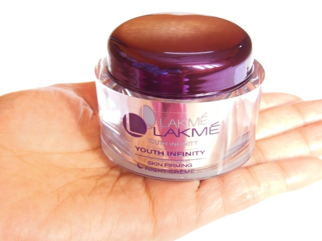 Lakme Youth Infinity Skin Firming Night Cream Review1