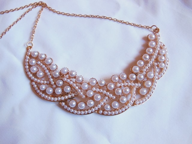 Cinderella Pearl  Necklace